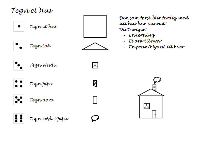 Tegn et hus